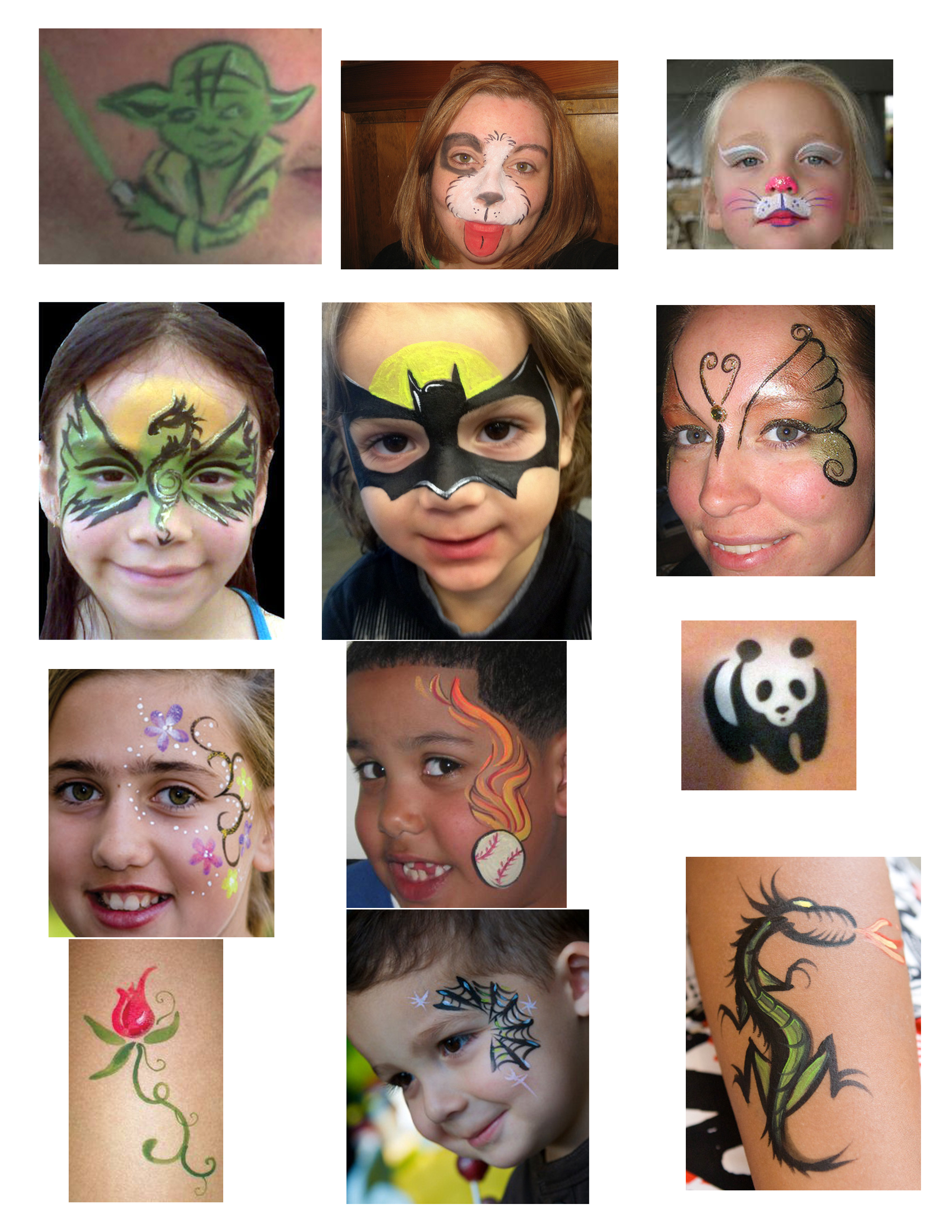 face painting hey hey entertainment wp